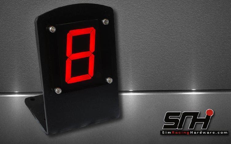 Dashboard sim racing hardware