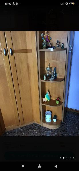 Dormitorio de madera cerezo