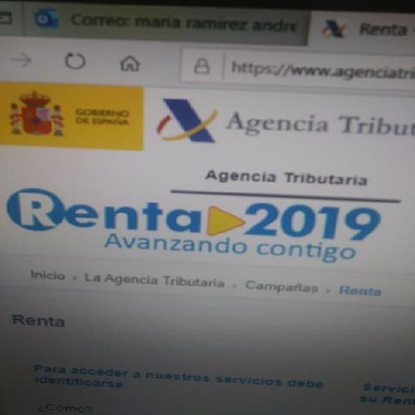 Elaboracion renta 2019