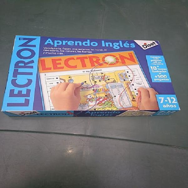 Electrón, aprendo inglés