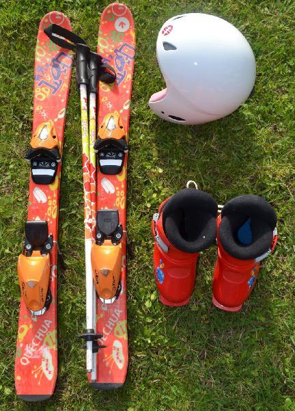 Esquí infantil - equipo completo