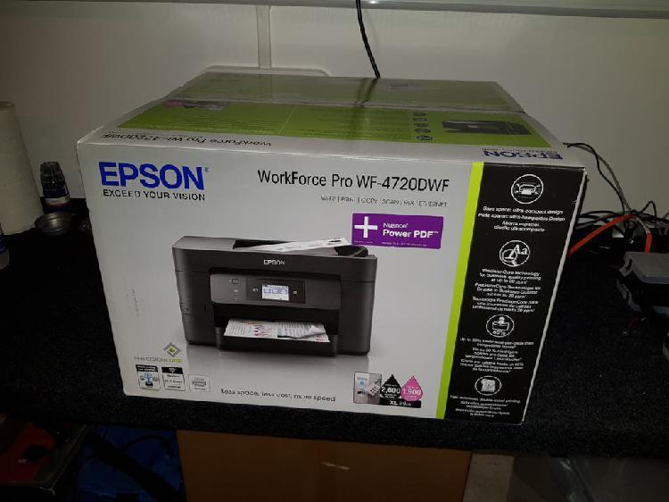 Impresora epson workforce pro wf-4720dwf usb wifi