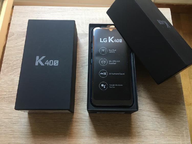 Lg k40s 32gb azul nuevo