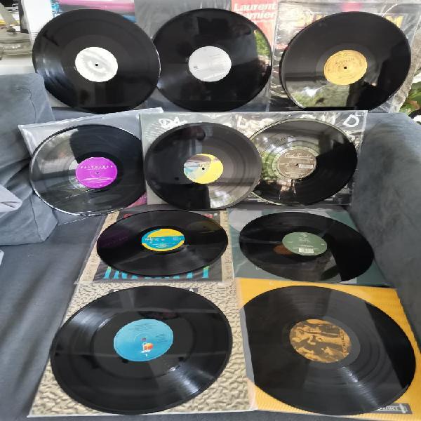 Lote x 10 vinilos trance house progr colección