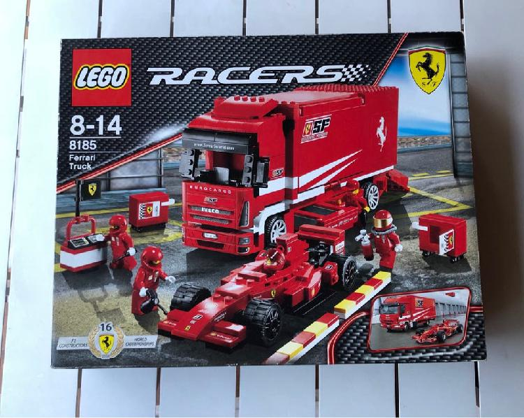 Lego ferrari formula 1 truck racers edition