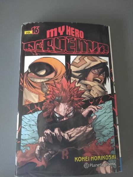 Manga boku no hero academy número 16