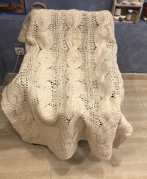 Manta lana alta calidad
