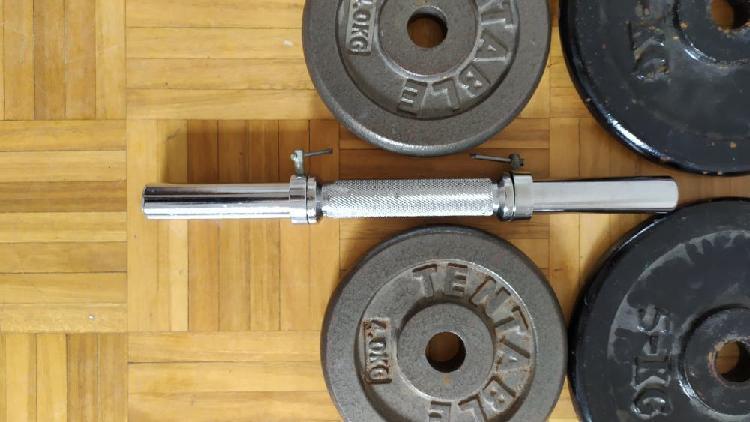 Pesas gimnasio mancuernas 20 kg