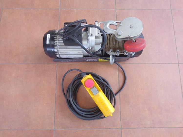 Polipasto eléctrico belflex 400/800 kg