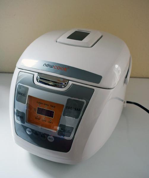 Robot de cocina programable newcook - 5 litros