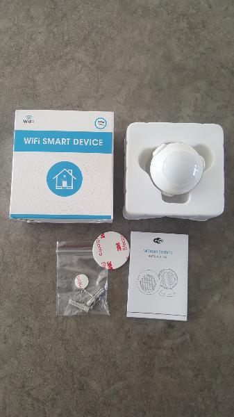 Sensor movimiento wifi google alexa