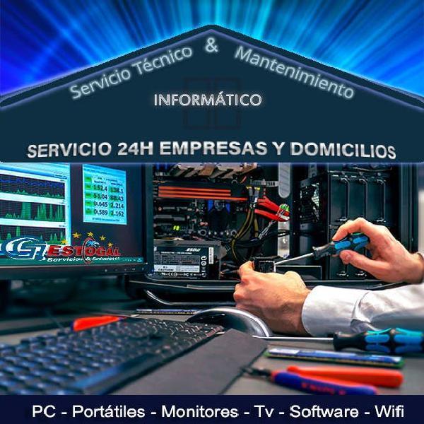 Técnicos informáticos a domicilios y empresas