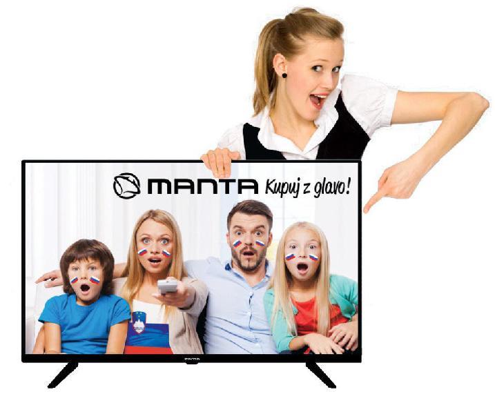 Televisor led manta 40 pulgadas