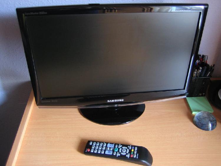 Televisor samsung lcd 20 pulgadas 2033hd