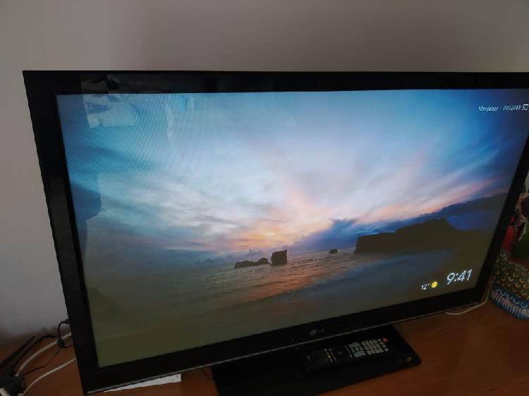 Televisión lg de plasma de 42 pulgadas
