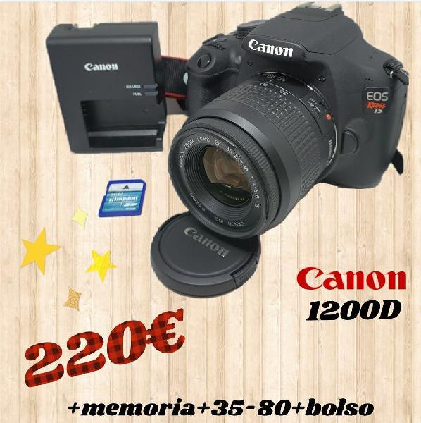 Camara réflex canon 1200d