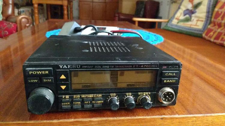 Emisora yaesu ft 4700 rh