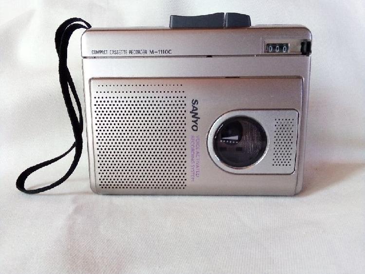 Grabador cassette sanyo