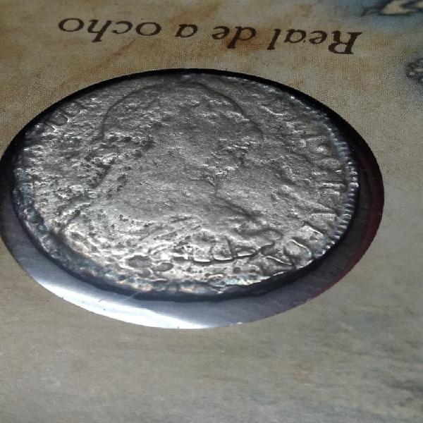 Moneda carlos iii 8 reales. el cazador