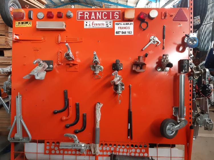 Remolques caravanas repuesto recambio accesorio