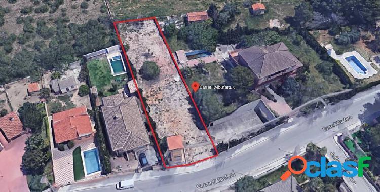 Terreno de suelo sin edificar residencial