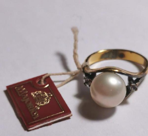 Anillo perla majorica - nuevo de tienda de cierre - precio