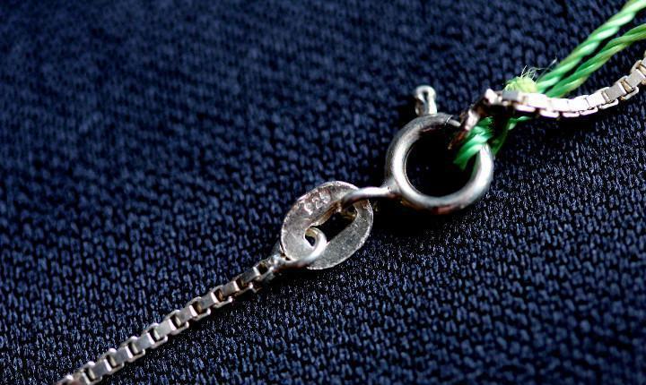 Cadena collar plata ley 925, 45cm, a estrenar