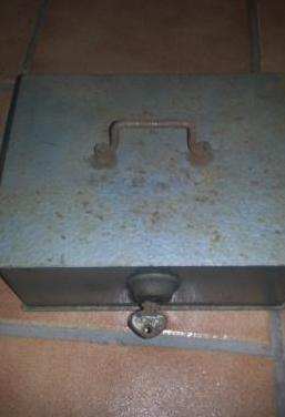 Caja caudales vintage