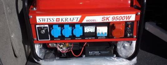 Generador de luz 9.500 wattios