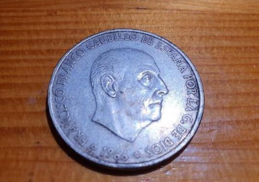 Moneda 100 pesetas 1966