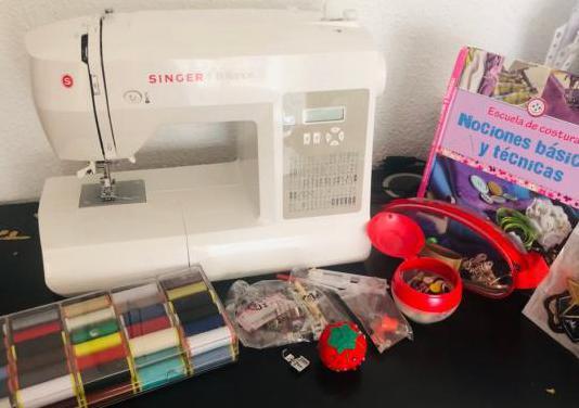 Máquina de coser singer brilliance 6180