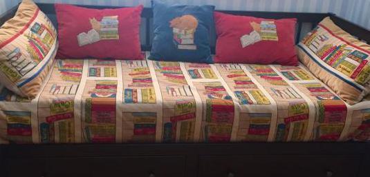 Sofá cama con dos cajones 2 colchones