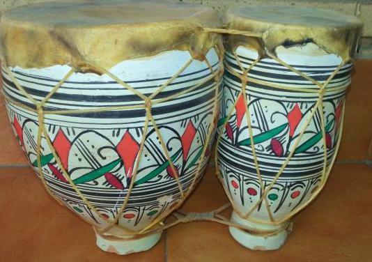 Timbal doble decoración o para tocar