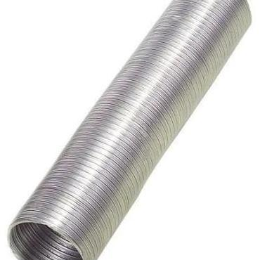 Tubo flexible aluminio compacto 100mm x 2metros