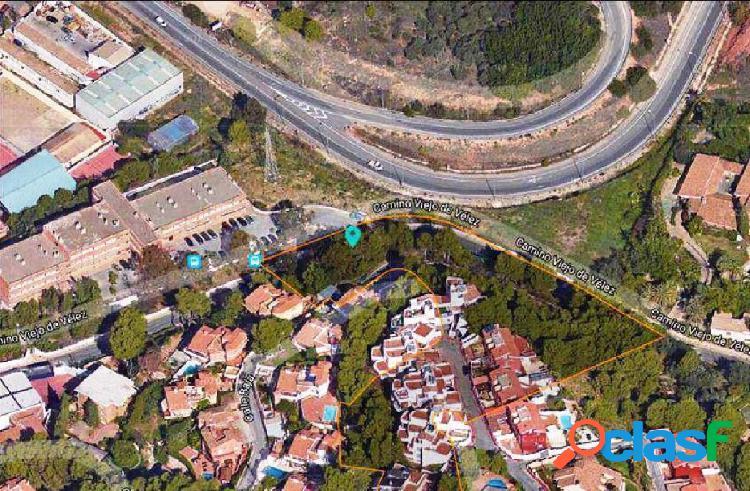 Dos parcelas - suelo urbano consolidado de 1560 m2 en el palo, málaga. licencia obras unifamiliares