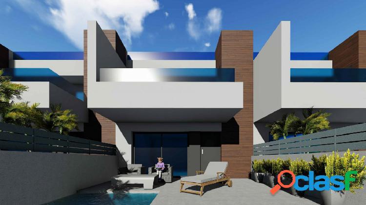 Villas adosadas con jardín y piscina privada en Benijófar, Costa Blanca 2