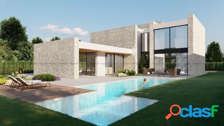 Exclusivas villas con proyecto personalizable en la playa de albufereta
