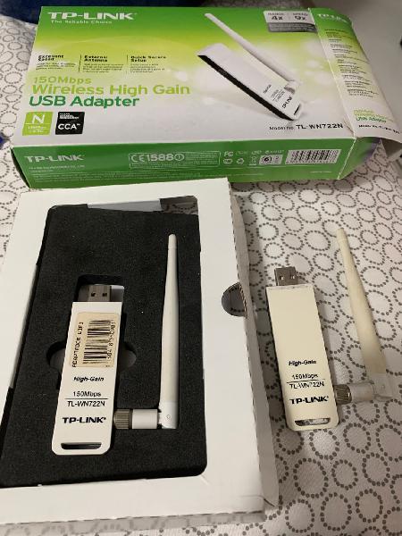 Adaptador wi-fi usb dos unidades