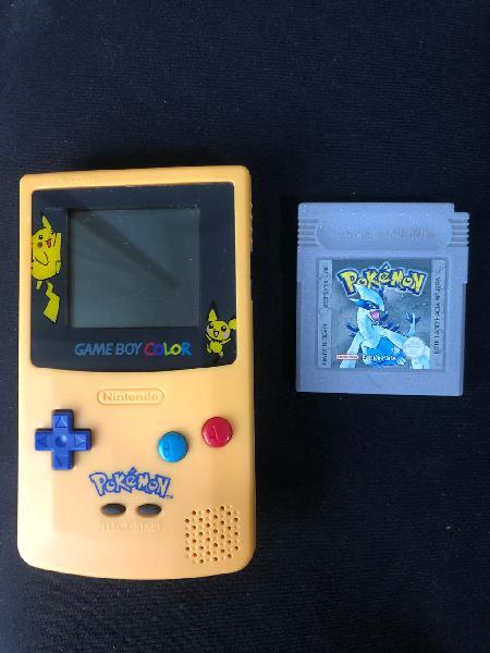 Consola game boy color pokemon + juego