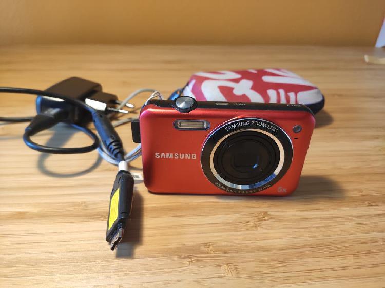 Camara fotos digital samsung es73 con sd y bateria