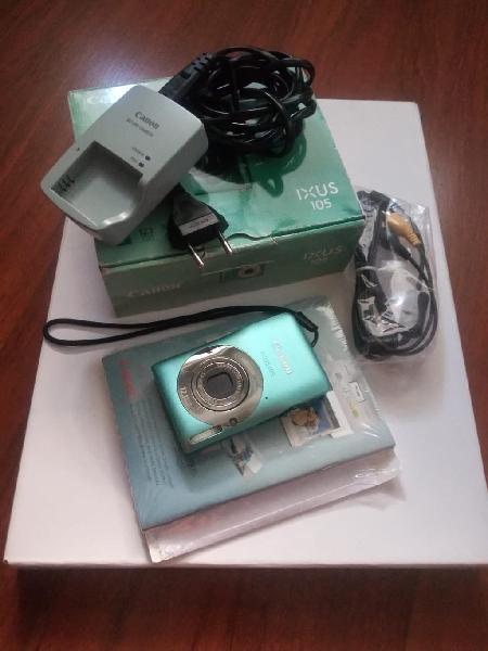 Cámara fotos digital canon ixus 105