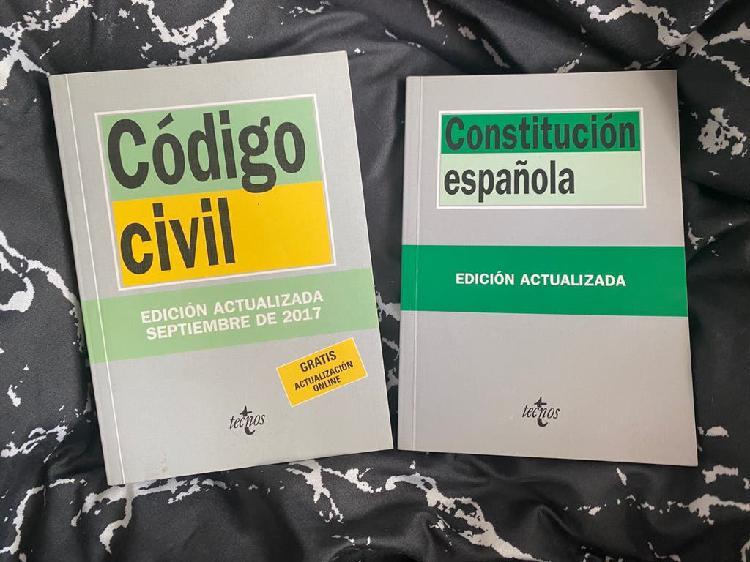 Codigo civil y constitucion española