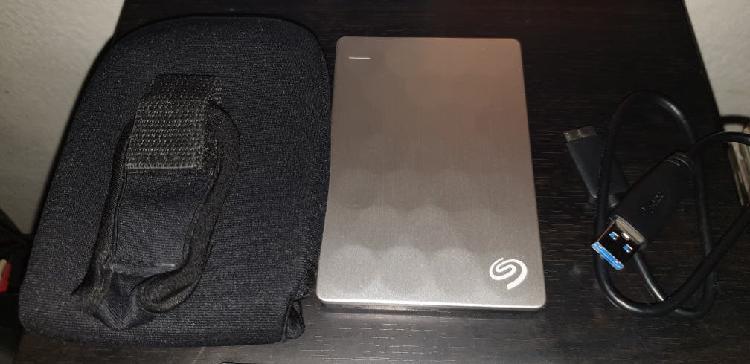 Disco duro externo seagate ultra slim 2tb
