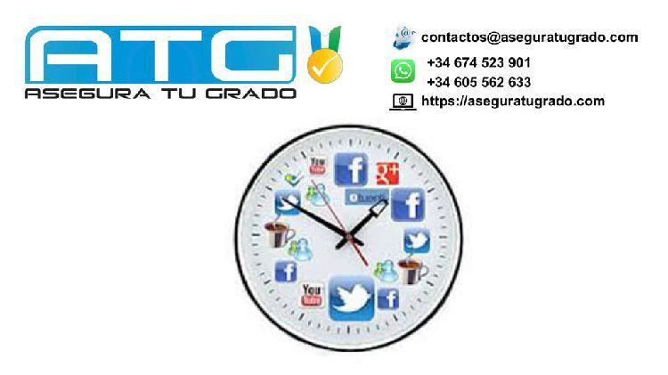 Déjanos gestionar el tiempo para tu tfg/tfm