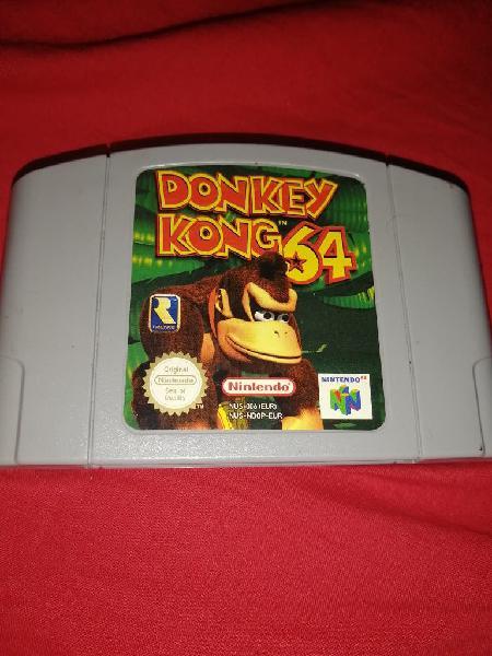 Donkey kong 64 nintendo 64 pal eur