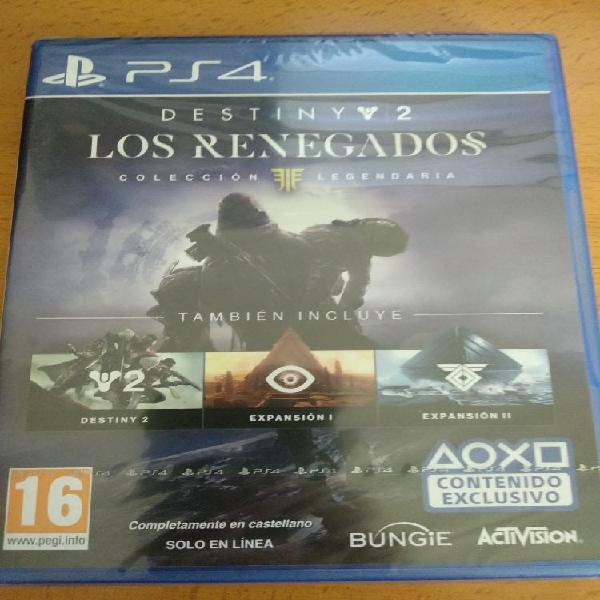 Destiny 2 coleccion legendaria ps4