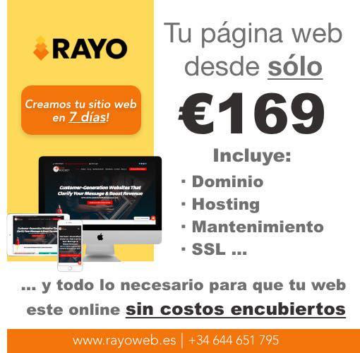 Diseño páginas web - tienda online económico