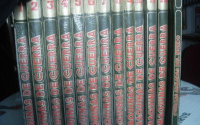 Enciclopedia máquinas de guerra, completa 13 tomos