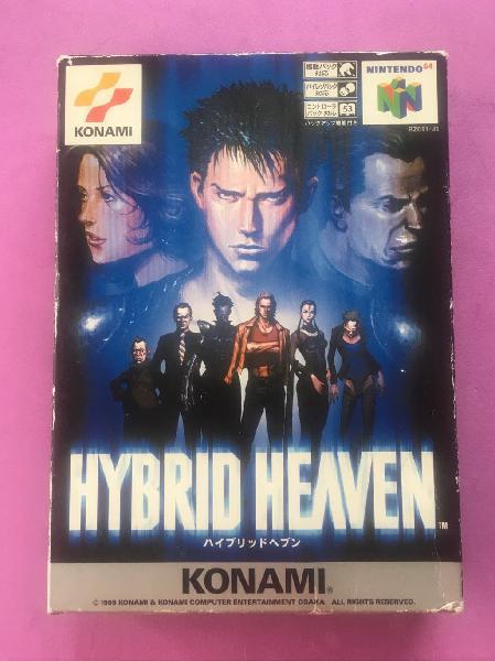 Hybrid heaven nintendo 64