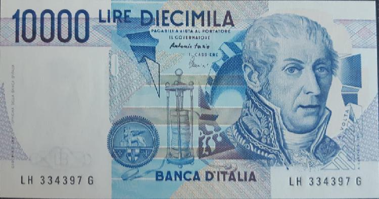 Italia 10000 lire liras p112d 1984 nuevo unc sc